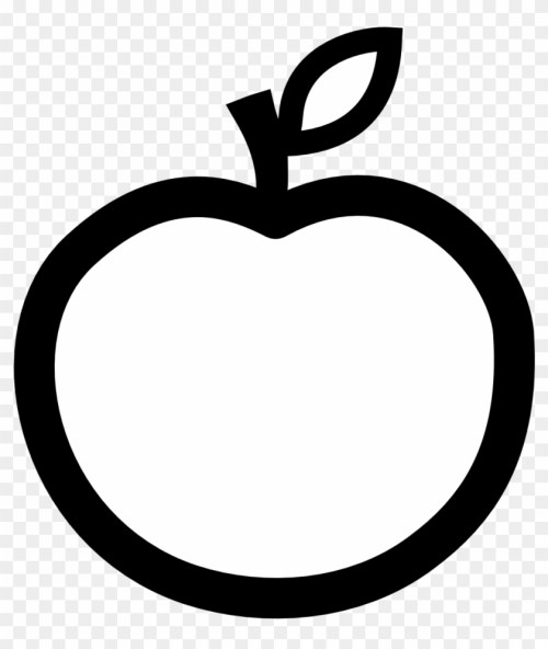 small resolution of white apple cliparts free download clip art free clip white and black apple 202288