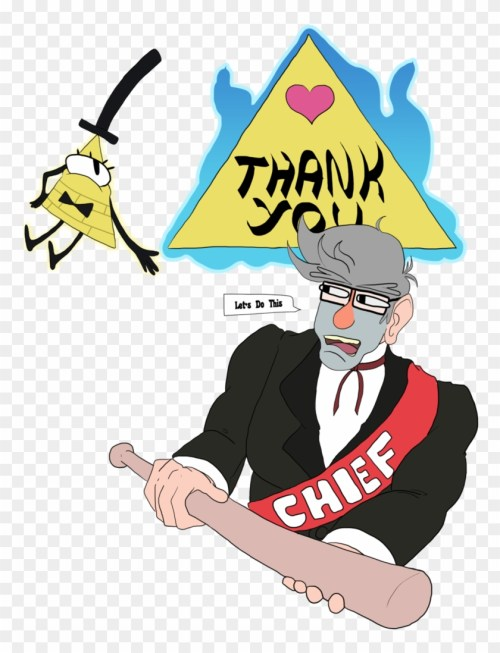 small resolution of gravity falls thank you by allkindsofyes cartoon