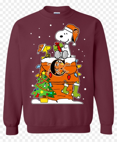 small resolution of campbell fighting camels ugly christmas sweaters snoopy christmas jumper