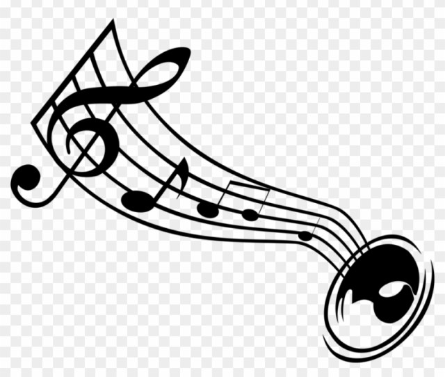 Music By Upter Gambar Nada Vector Png Free Transparent Png