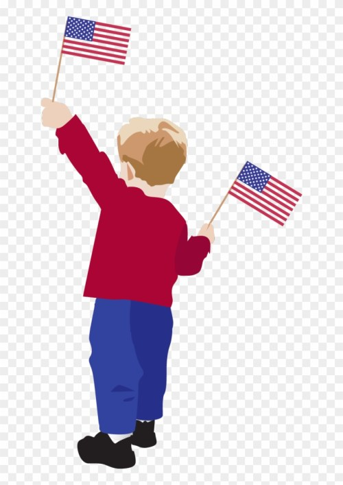 small resolution of boy with american flag clipart all american boy transparent clipart
