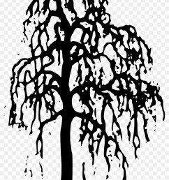 nature clipart willow tree clipart gallery free clipart black and white outline willow tree  [ 840 x 1230 Pixel ]