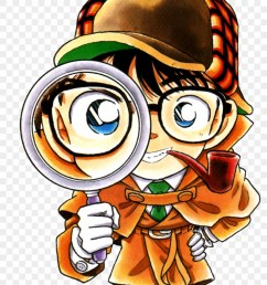 detective conan with magnifying glass 1334851 [ 840 x 1336 Pixel ]