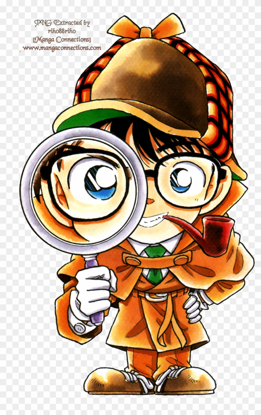 hight resolution of detective conan with magnifying glass 1334851