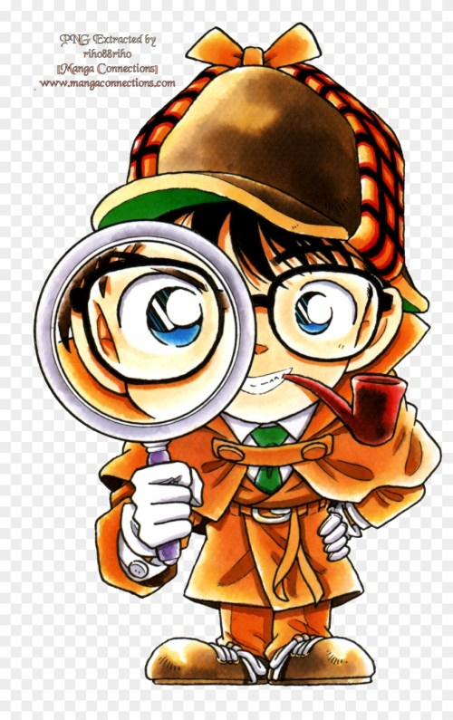 small resolution of detective conan with magnifying glass 1334851