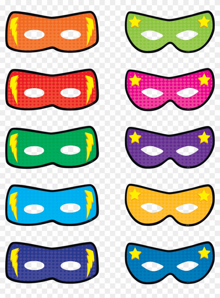 medium resolution of superhero masks accents image free superhero bulletin board printables
