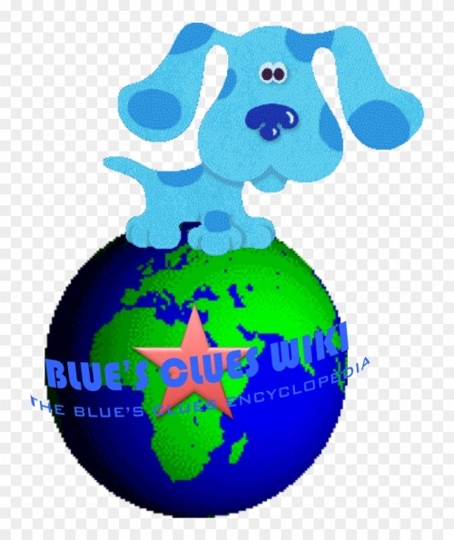small resolution of blue puppy blues clues 236268