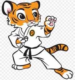 karate tiger clipart clipart kid tiger karate 36629 [ 840 x 966 Pixel ]
