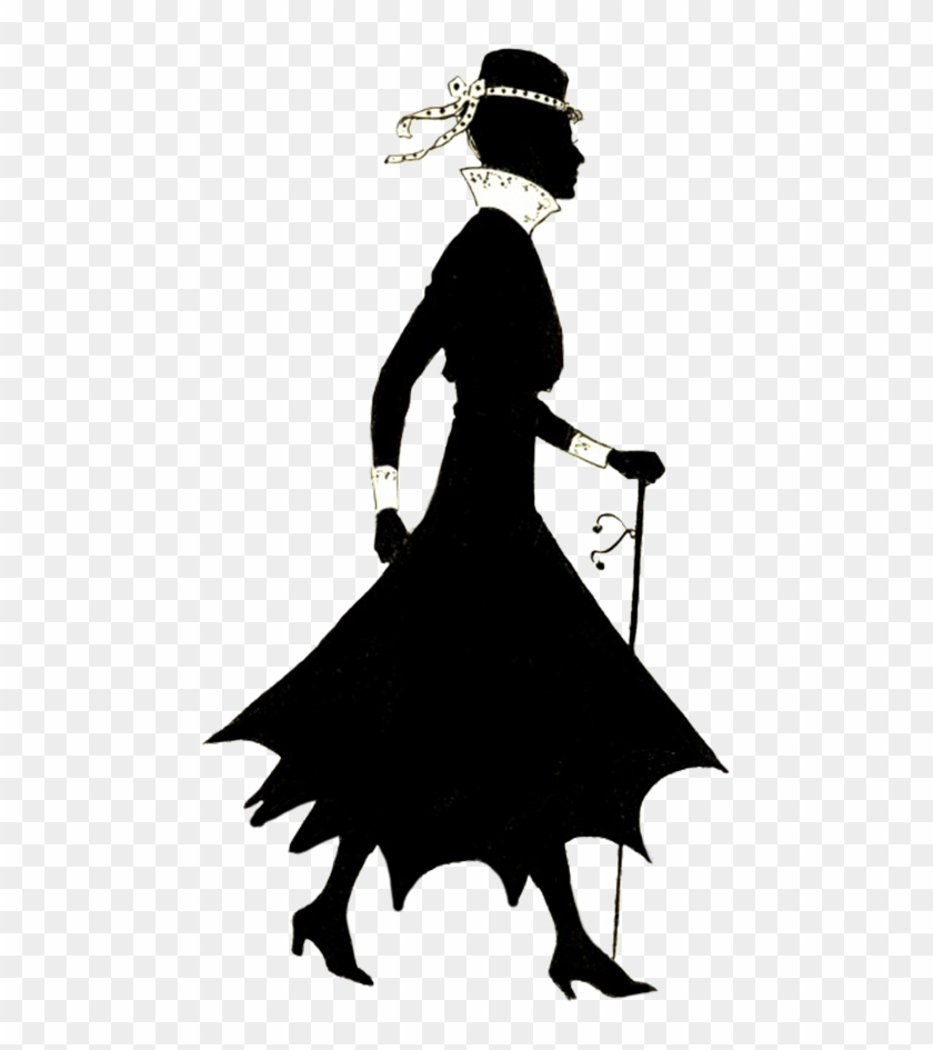 hight resolution of free vintage lady silhouette clipart silhouettes of women walking