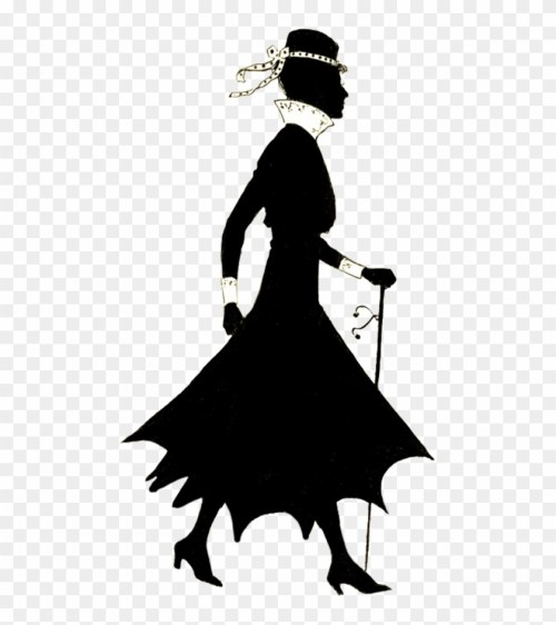 small resolution of free vintage lady silhouette clipart silhouettes of women walking