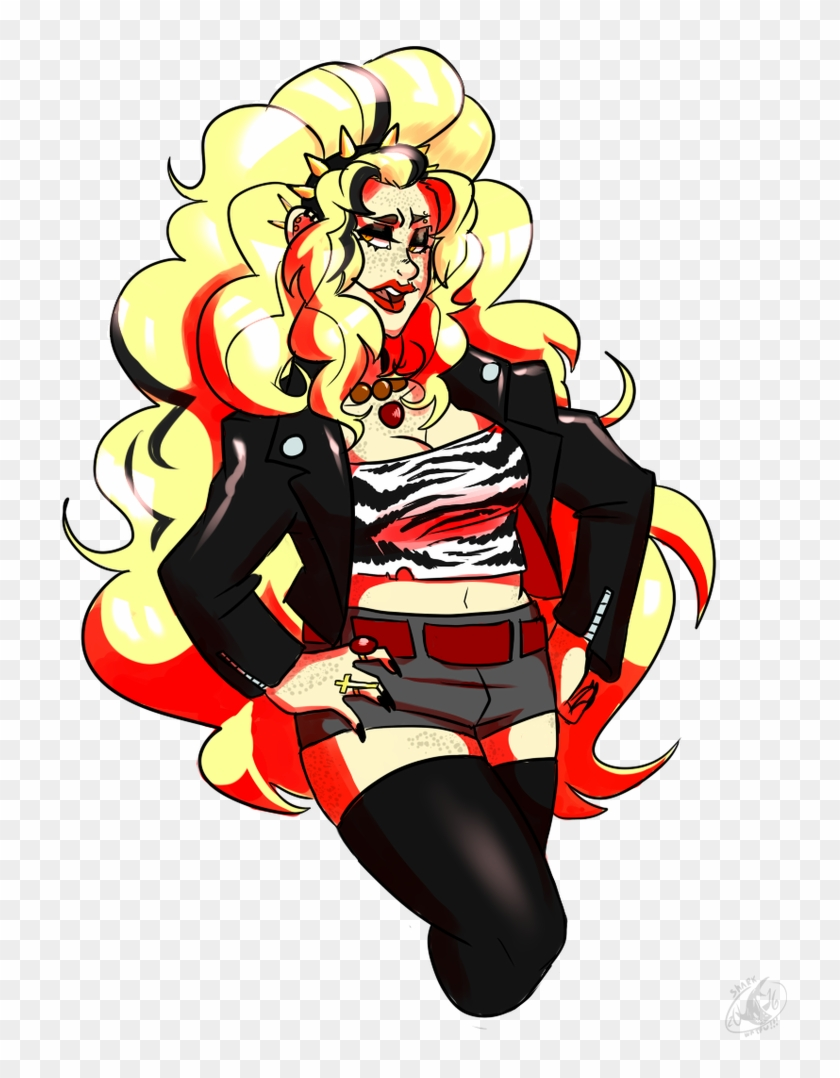 medium resolution of rock n roll and leather by shark waifu rock n roll and leather by shark waifu