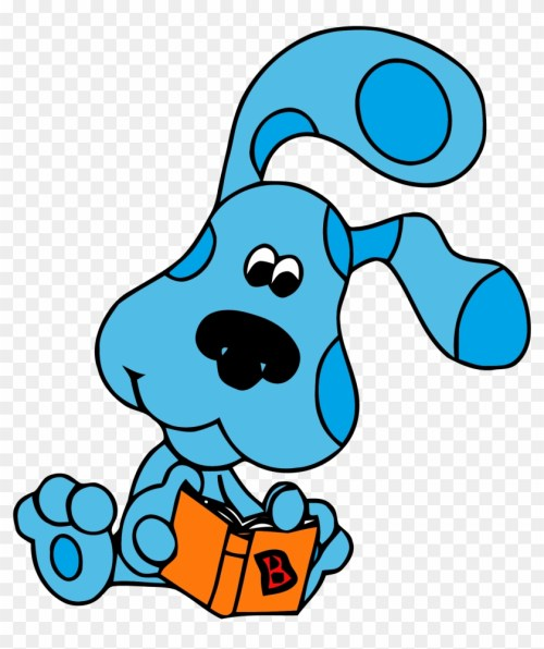 small resolution of blue s clues clip book clipart png blue s clues clip art 246789