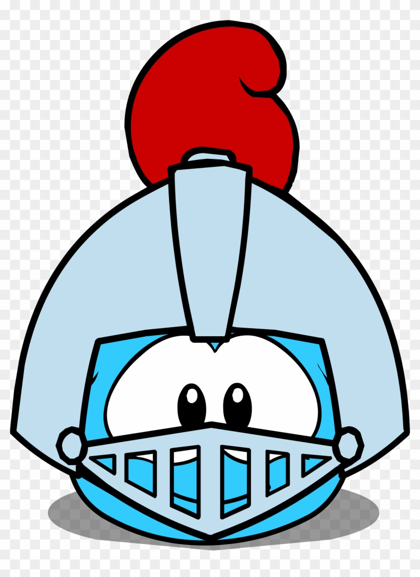 hight resolution of puffle hats knight helmet id 81 igloo club penguin id for puffle hats