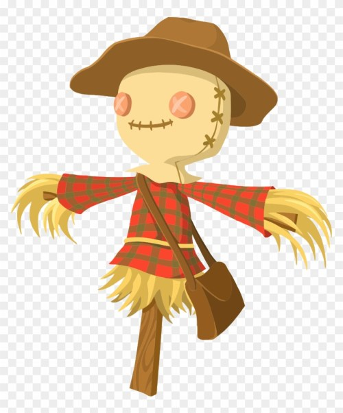 small resolution of cartoon scarecrow scarecrow png