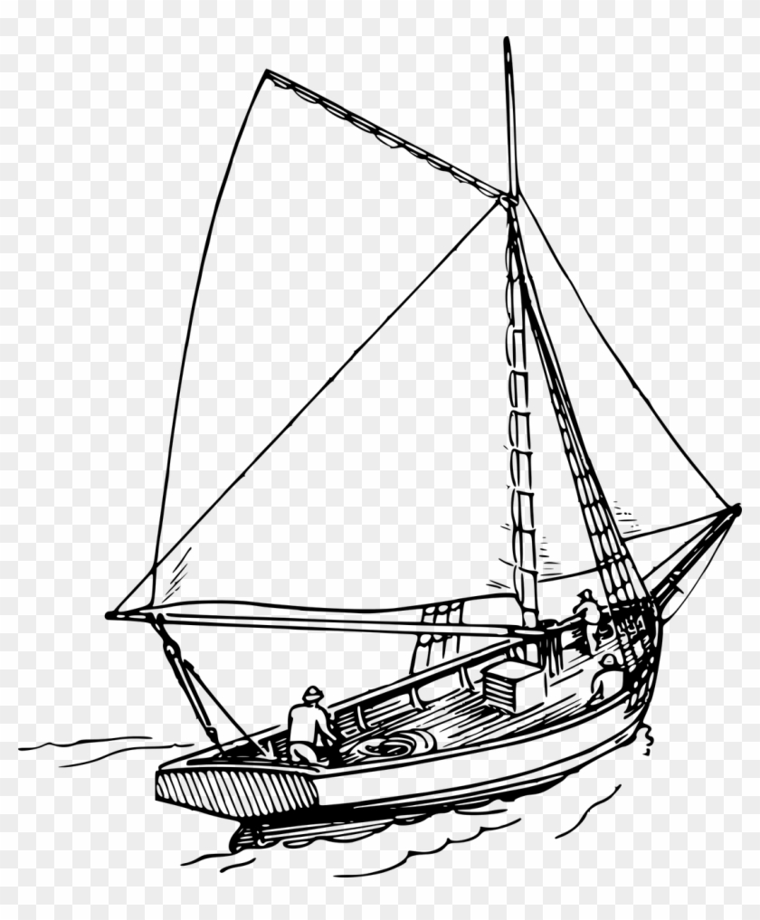 hight resolution of boat clipart ocean sailing boat png drawing