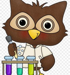 july 9 13 silly science lab scientist owl clipart [ 840 x 1114 Pixel ]