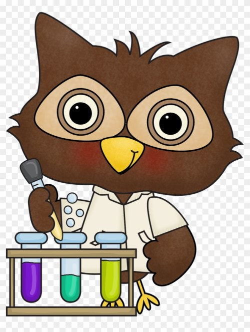 small resolution of july 9 13 silly science lab scientist owl clipart