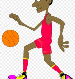 clear basketball cliparts cartoon basketball player transparent background [ 840 x 1272 Pixel ]