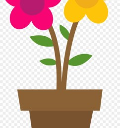 flower clipart easter matera con flores animada [ 840 x 1492 Pixel ]