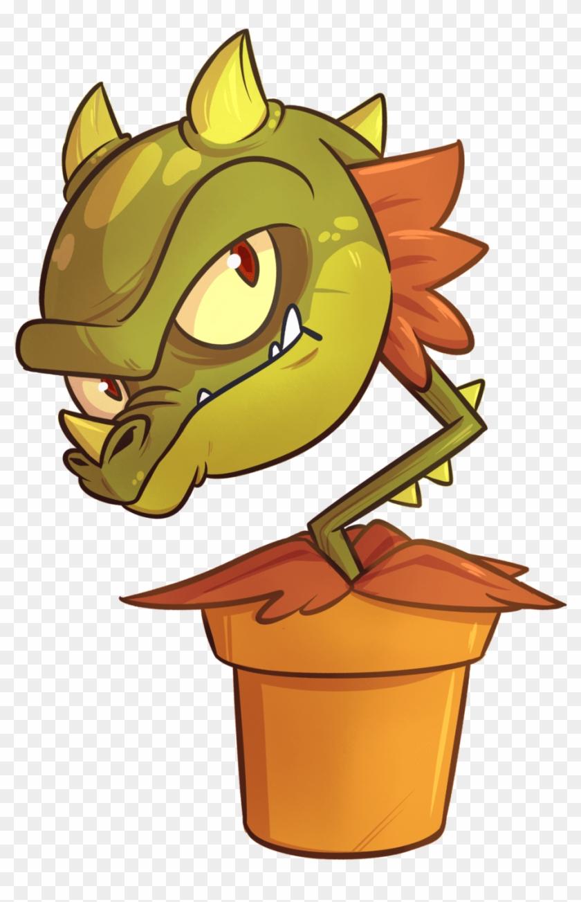 Snap Dragon Coloring Page Pvz Snapdragon Plants Vs Zombies Fanart Free Transparent Png Clipart Images Download