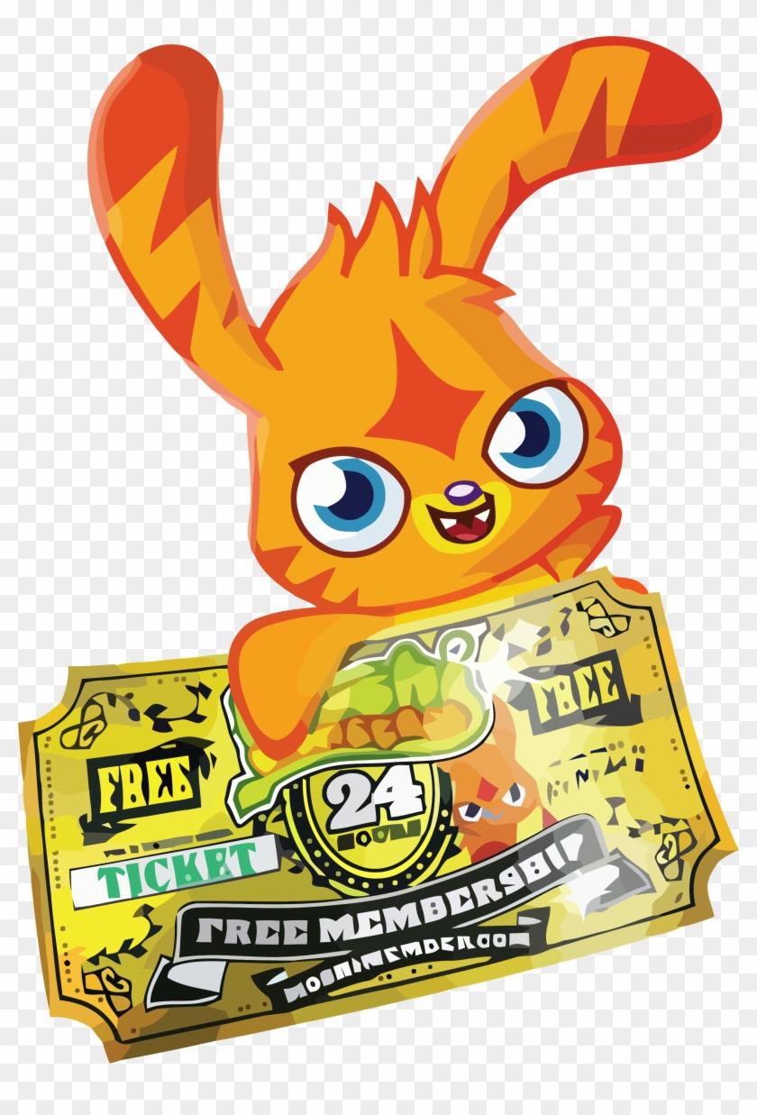 hight resolution of katsuma gold ticket clipart png moshi membership codes 2017