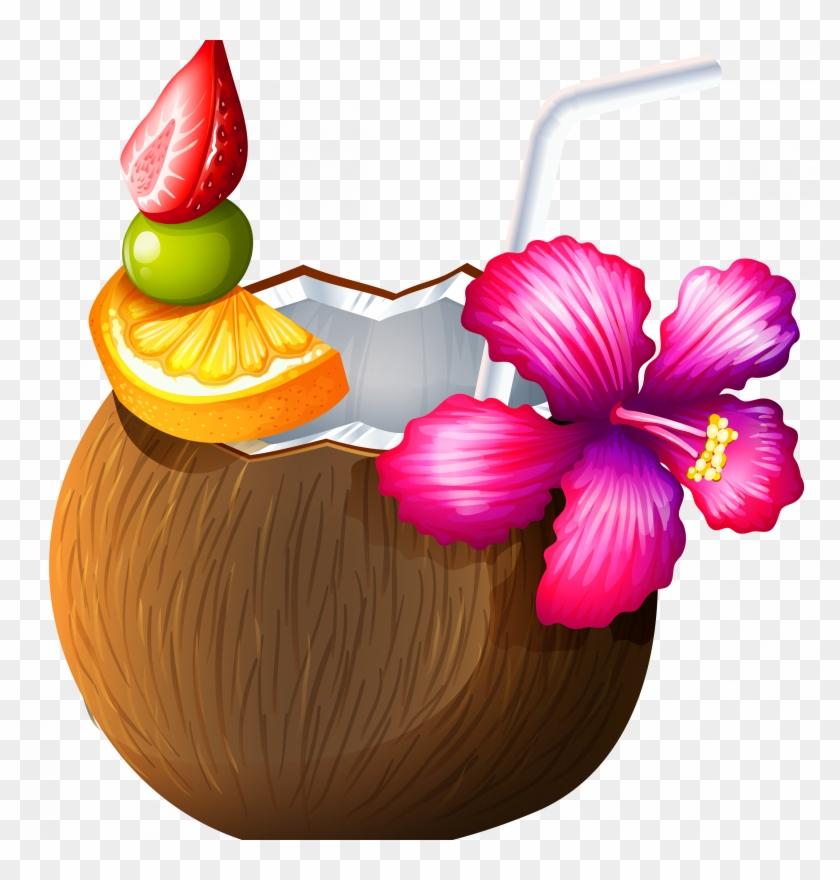 Coconut Clipart Safari Coconut Drink Clip Art Free Transparent Png Clipart Images Download