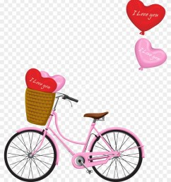 free romantic bicycle clip art free pretty things for you 840 985 [ 840 x 985 Pixel ]