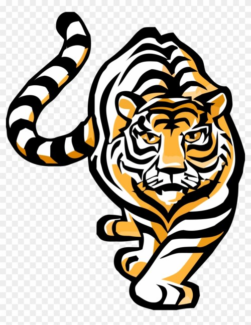 small resolution of bengal tiger clipart bengal tiger clip art 277433