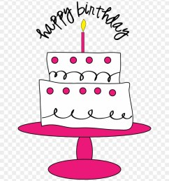 birthday cake clipart cute birthday clipart free 279761 [ 840 x 964 Pixel ]