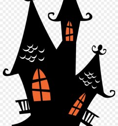 halloween spooky house clip art haunted house cliparts 286665 [ 840 x 1390 Pixel ]