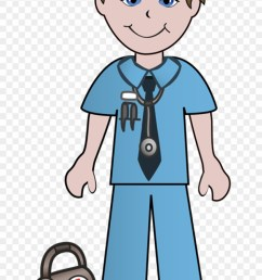 clipart of doctor doctors and ready male nurse clipart 287688 [ 840 x 1333 Pixel ]
