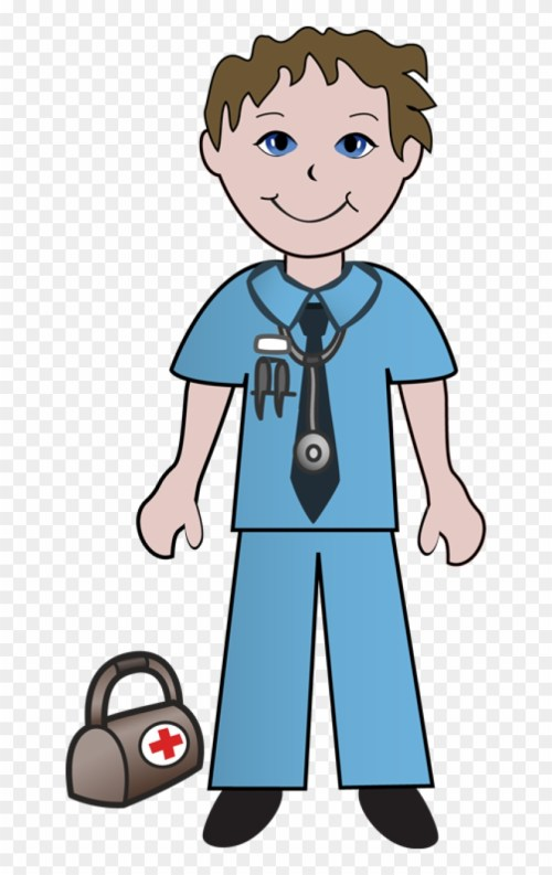 small resolution of clipart of doctor doctors and ready male nurse clipart 287688