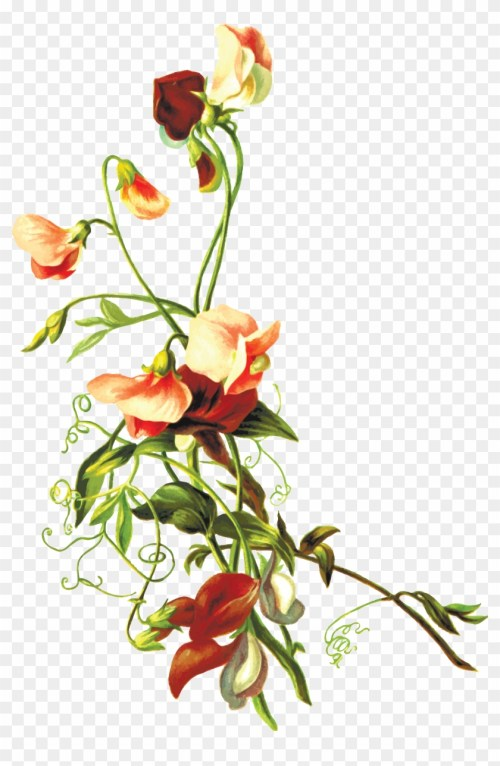 small resolution of free clipart of flowers flower leaf png