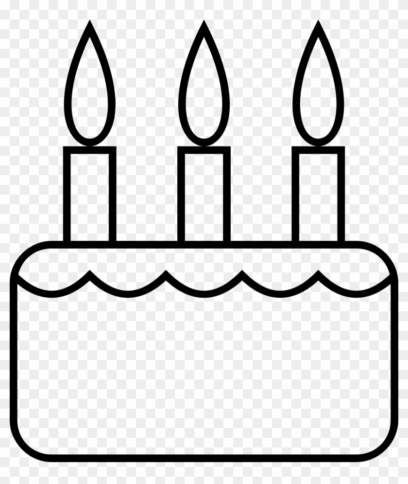 hight resolution of big image black and white birthday cake slice clipart 296591