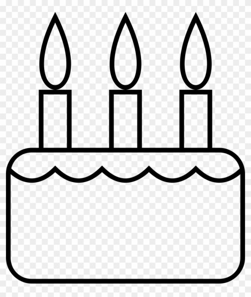 small resolution of big image black and white birthday cake slice clipart 296591