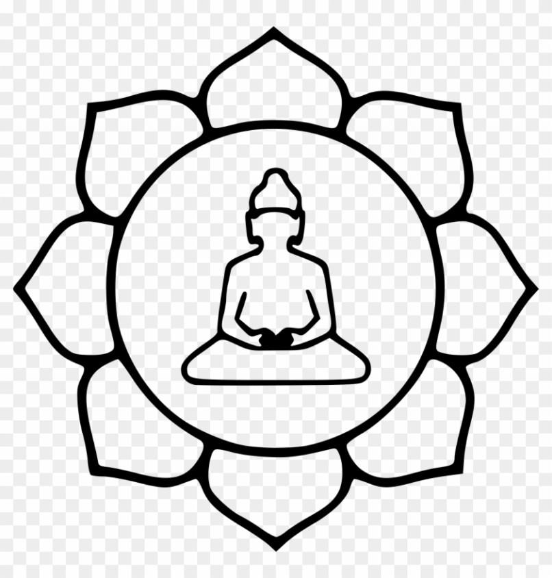 Buddhist Lotus Flower Drawing Wajiflower
