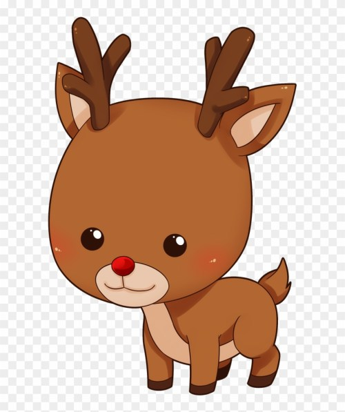 small resolution of baby deer cartoon clipart reindeer clipart collection reindeer clipart 307141