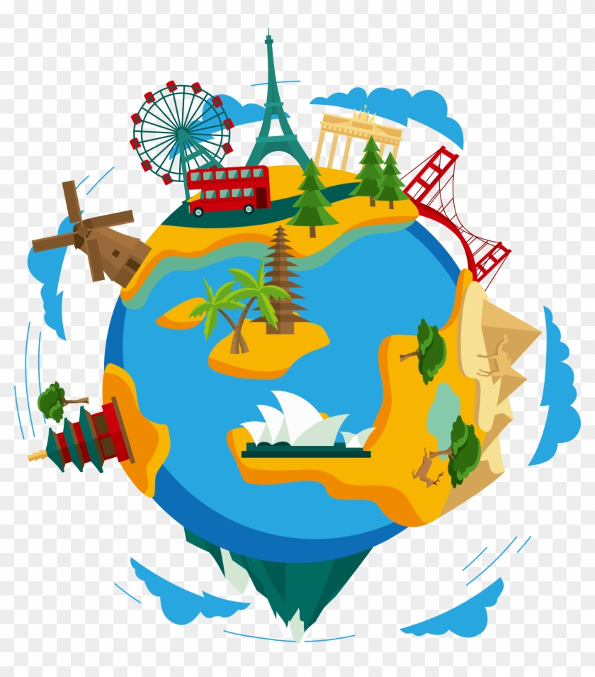 hight resolution of earth clip art world travel clipart png 58530
