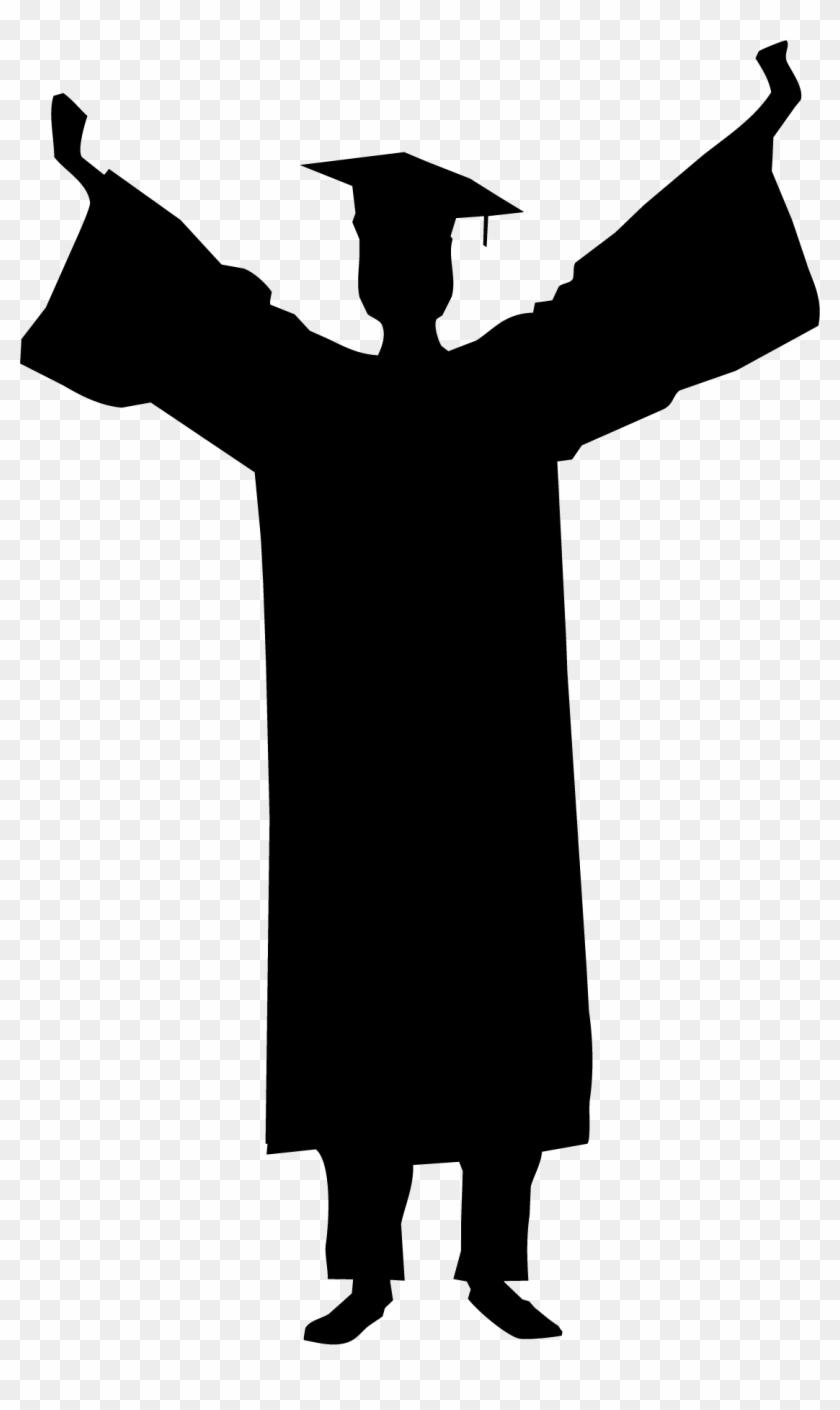 Graduation Ceremony Silhouette Student Clip Art