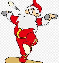 santa claus physical exercise physical fitness clip santa claus physical exercise physical fitness clip [ 840 x 1149 Pixel ]