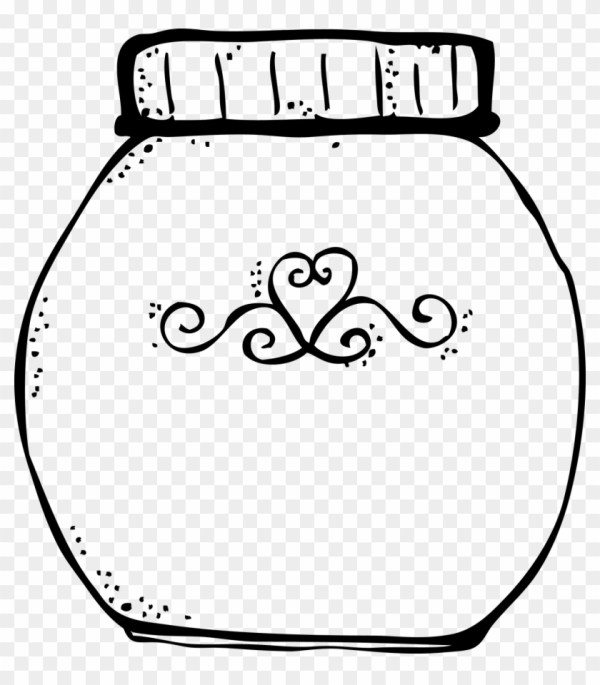 jar clipart - empty candy