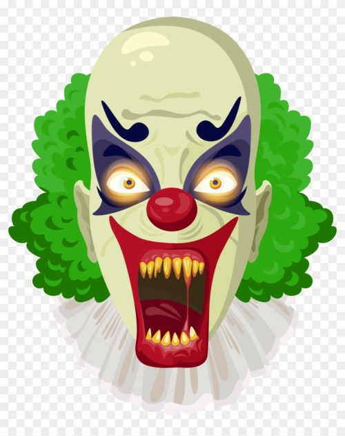 small resolution of transparent scary halloween clip art 339223