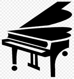 grand piano clipart grand piano royalty free vector clip art [ 840 x 940 Pixel ]