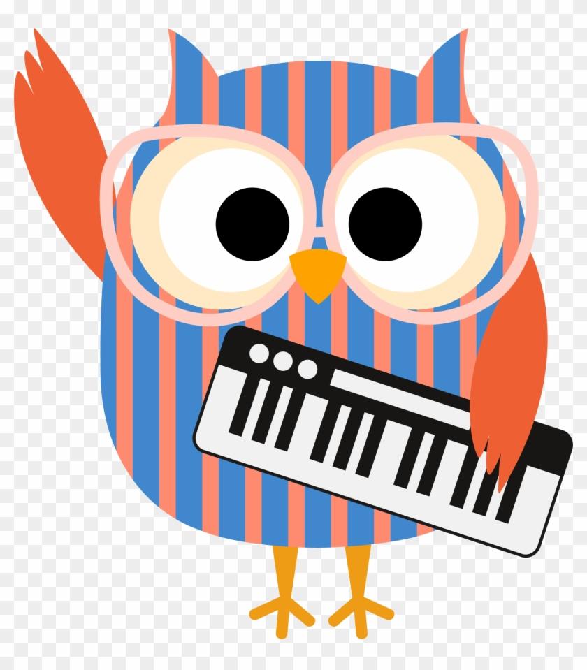medium resolution of piano class owl owl musician clipart