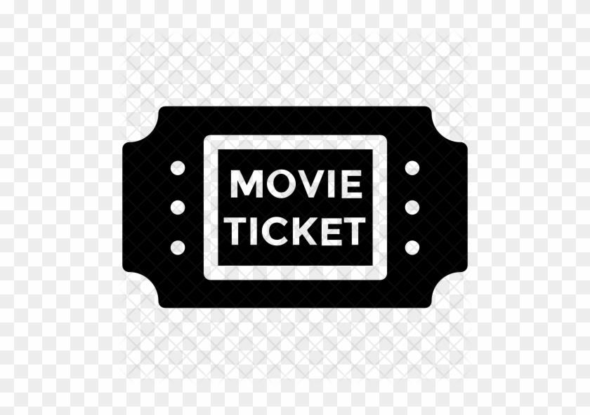 movie ticket icon ticket