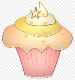 pink and gold cupcake clipart 367145 [ 840 x 954 Pixel ]