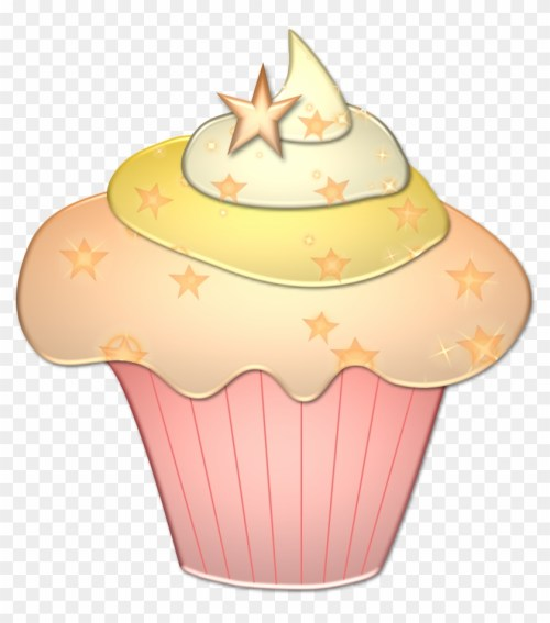 small resolution of pink and gold cupcake clipart 367145