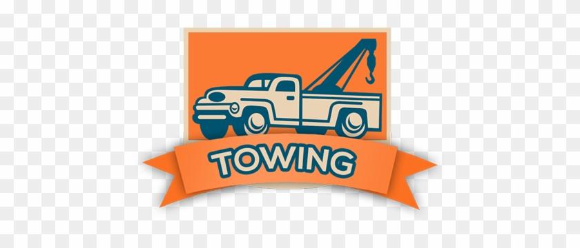 main logo vintage tow