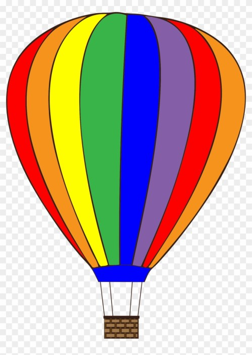 small resolution of colorful hot air balloon clipart hot air balloon