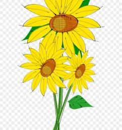 sunflower clipart sun flowers clip art 72534 [ 840 x 1263 Pixel ]